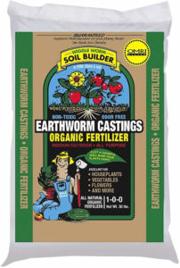 worm castings 5 lb bag